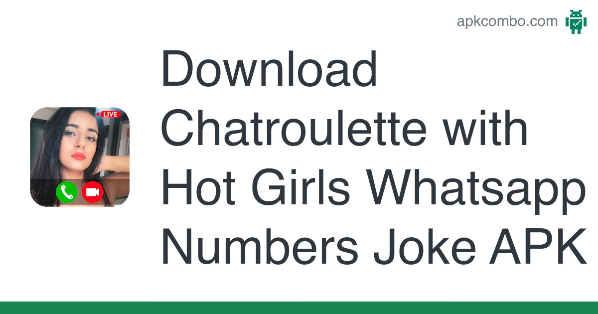 Numbers real girl apk whatsapp Girls Whatsapp