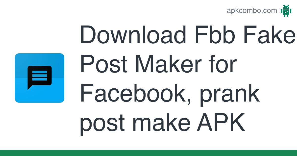 Chat facebook apk fake Zeoob