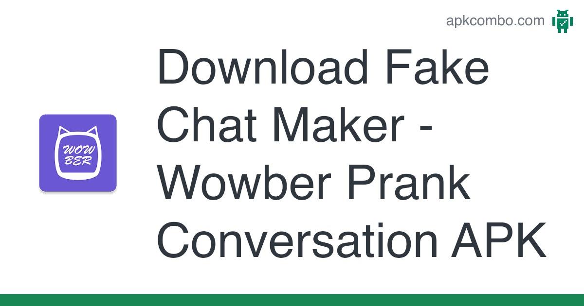 Fake chat apk facebook Zeoob